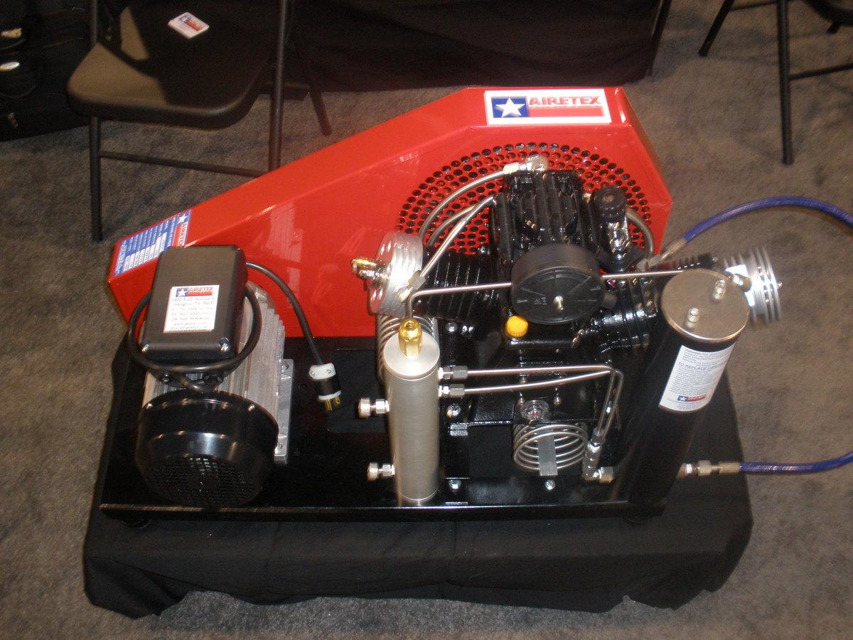 Airetex High Pressure Breathing Air Compressor